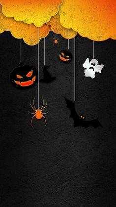 Spooky Halloween Pictures, Halloween Frames, Halloween Jack, Halloween Cards, Holidays Halloween, Vintage Halloween, Happy Halloween, Halloween Decorations, Holiday Wallpaper
