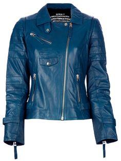 Just'eve 'carmin' Biker Jacket - Irina Kha - Farfetch.com