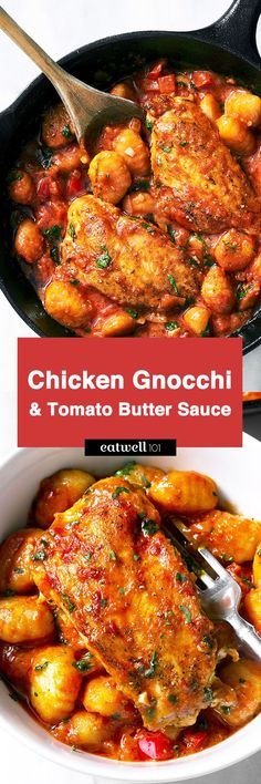 Looking for a speedy dinner for two? You are going to love this one-pan chicken gnocchi drenched in a summery tomato butter sauce! It is packed full of flavors, has only 7 ingredients (beside salt,…