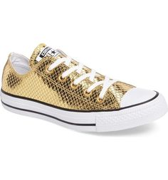 CONVERSE Chuck Taylor Ox Women | Gold/Black/White (555967C)