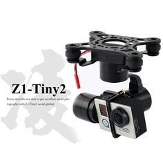 224.00$  Watch here - http://ali5b3.worldwells.pw/go.php?t=32593505502 - Zhiyun Z1-TINY 2 3axis bruhsless gimbal for gopro Hero 3 3+ 4 DJI Phantom 2 F450 F550 X525 drone PK Feiyu Mini 3D PRO