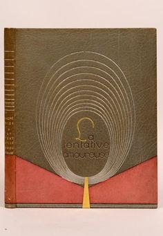 GIDE (André) La Tentative amoureuse ou Le Traité du vain désir. Paris, Nouvelle Revue Française, 1921. BINDING: René Kieffer, Pierre Legrain