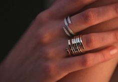 Collection Spirale dinh van #dinhvan #paris #jewels #jewelry #rings