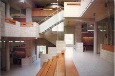 Not PC: Apollo Montessori School, Amsterdam - Herman Hertzberger University Architecture, School Architecture, Architecture Details, House Architecture, Montessori, Pamplona, Lund, Brutalist Buildings, Key Projects