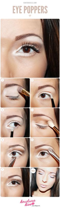 Make Your Eye Poppers ~ It is very easy and simple to do and it looks wonderful.