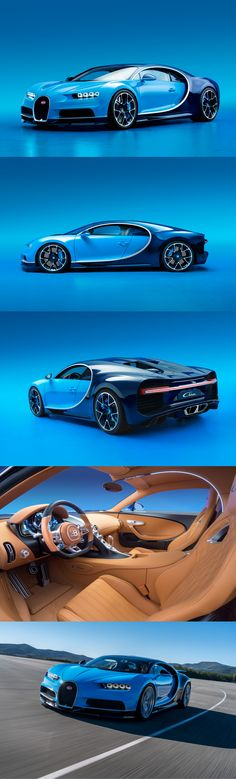 Roughly 1,500 horsepower and 1,180 lb-ft are available from its 8.0-liter, quad-turbocharged W-16 engine—the first production car ever to generate that much horsepower. Bugatti says the Chiron can hurtle from 0 to 62 mph in less than 2.5 seconds on to a top speed of 261 mph (best of luck to anyone who tries). Oh, and we hear it has potential to go even faster.