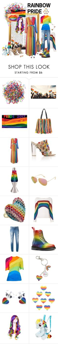 """""""Rainbow pride"""" by fiona-stanley ❤ liked on Polyvore featuring Dress My Cupcake, Emilio Pucci, Just Cavalli, Universal Lighting and Decor, Victoria Beckham, Betsey Johnson, Marc Jacobs, Dolce&Gabbana, Pastease and My Little Pony"""
