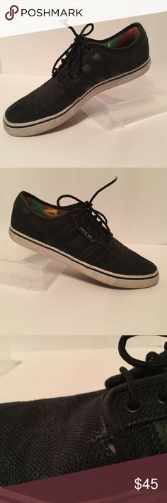 81ed689c718 Adidas Men s Seeley Hemp Skateboarding Sneakers These are preowned in well  loved condition Size  8