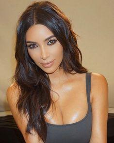 Pinterest: DEBORAHPRAHA ♥️ Kim kardashian bronzed makeup look