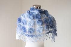 Crochet Bolero Shrug Shawl // Winter accessories // by MODAcrochet
