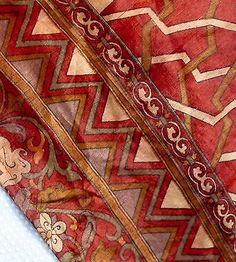 Boho Full Length Silk Caftan Tribal Kaftan Size L-XXL UNISEX Kimono sleeves Maxi
