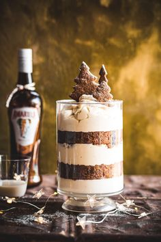 Amarula Gingerbread Trifle - The Kate Tin Christmas - Judy Dunnett - African Food South African Recipes, Ethnic Recipes, Gingerbread Trifle, Vanilla Panna Cotta, Christmas Trifle, Trifle Recipe, Holiday Baking, No Bake Desserts, Healthy Snacks