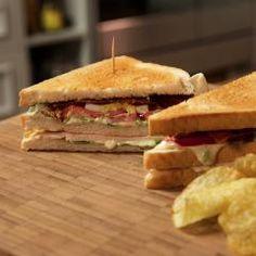 New York Club Sandwich von Anna Walz - [ESSEN UND TRINKEN]