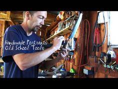 Handmade Portraits: Old School Tools #ShopClassAsSoulCraft