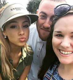 ARIANA GRANDE AND MAC MILLER WITH A FAN #KIMILOVEE #THEWIFE