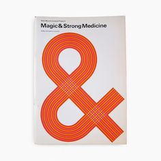 Magic & Strong Medicine. A Peter Moores Liverpool Project 2 catalogue. Published by The Walker Art Gallery, Liverpool. 1973. Designed by Ian McLaren.  #petermoores #johnmoores #liverpool #walkerartgallery #ianmclaren #ianmclarendesigner #modernist #modernism #minimal #minimalism #minimalist #design #bookcover #bookcoverdesign #midcenturymodern #midcenturydesign #print #typography #graphicdesigner #designlife #collectandcatalogue #graphicdesign #instabook #classicbooks #thicklines #print…
