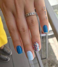 Nails Now, Nails Today, Love Nails, My Nails, Color For Nails, Purple Nail Art, Nail Colors, Short Gel Nails, Long Acrylic Nails