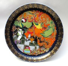Rosenthal Studio Line Bjorn Wiinblad Aladin Aladdin Series Plate