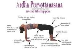 Yoga pose for slouchers