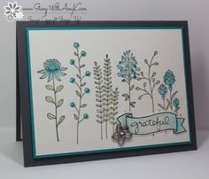 Stampin' Up! Flowering Fields for Sunday Stamps