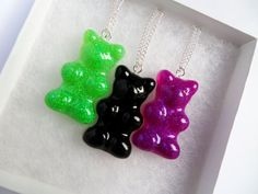 Special Edition Halloween Resin Gummy Bear by CandyShockUK on Etsy