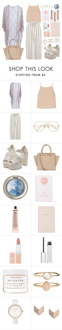 """""""escape the ordinary"""" by faradila ❤ liked on Polyvore featuring Roses Are Red, T By Alexander Wang, Salvatore Ferragamo, Sigma, Grown Alchemist, Kate Spade, Rimmel, Givenchy, Herbivore and Accessorize"""