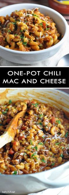 One Pot Chili Mac an...