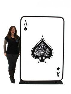 Ace of Spades III Tank Top Spade Ace Poker Card Casino Carte ROYAL FLUSH pique as