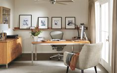 Modern Office Furniture - Room & Board