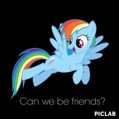 Can we be friends ?