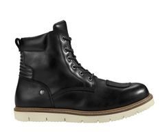 The new Spidi X-Village Boots are protective motorcycle boots with a water-repellent thick, oiled leather upper, a padded collar, and shifter pads Biker Boots, Motorcycle Boots, Combat Boots, Men's Boots, Brown Boots, Black Boots, Calf Leather, Leather Boots, Unisex