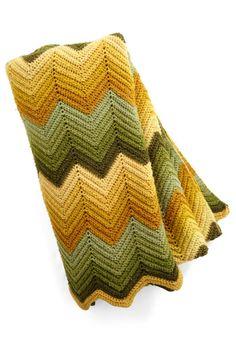 Vintage Seventh Inning Snuggle Throw | Mod Retro Vintage Vintage Clothes | ModCloth.com