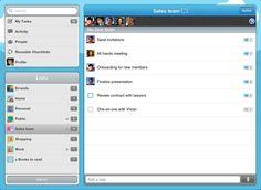 Une assistante virtuelle sur votre mobile pour gérer vos tâches en mode collaboratif.