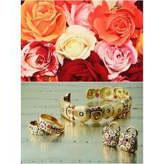 Roses are red...pink...orange & sapphires too!! #alexsepkus