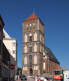 Hanseatic City of Rostock - German Architecture Forum / The Gothic St. Nicholas Church, built in 1230