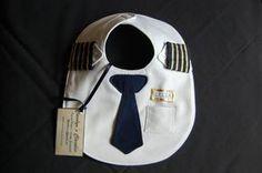 Babero de piloto de línea aérea