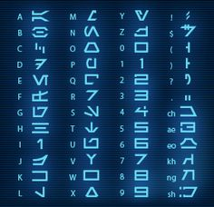"""Aurebesh"" font. Star Wars. See Star Tours scrapbook pages at http://mousescrappers.com/forums/showthread.php?t=4038"