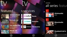 Nokia TV application. I was part of this project in very early phase creating ideas and SW for Symbian and for Microsoft phones.