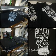 Youthees Screen Printing & Convection: Jenis Sablon Discharge / Cabut warna