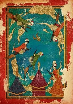 Dünya Edebiyatının Dev Eserlerine Bir de Osmanlı Minyatür Sanatıyla Bakın!