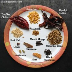 An authentic, homemade bisi bele bath masala spice powder using byadgi chilies and marathi moggu to make Bisi Bele Bath Homemade Spice Blends, Homemade Spices, Spice Mixes, Masala Powder Recipe, Masala Recipe, Kitchen Recipes, Snack Recipes, Cooking Recipes, Snacks