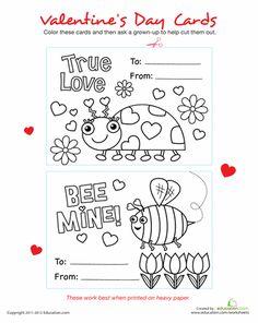 Preschool Reading Flash Cards Worksheets & Free Printables | Education.com