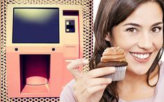 Sprinkles Cupcake ATM in Los Angeles! We need a cupcake ATM! Office Necessities, Sprinkle Cupcakes, Are You Not Entertained, Stephanie Brown, Europe News, Cute Little Things, White Meat, Eat Right, Girls Dream
