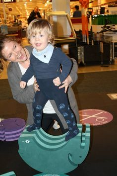 Children and adventurous grown-ups can jump onto his feet and rock from side to side for the ultimate balance challenge!   http://blossomforchildren.co.uk/at-home/72-bobles-elephant.html