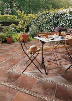 patio tiles ideas laying a tile patio may not be a weekend do it yourself project - Patio Tiles Ideas