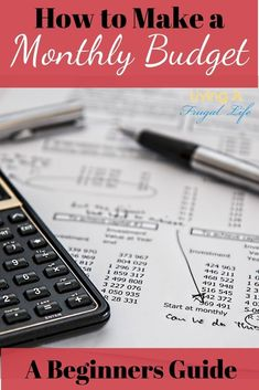 This is the best beginners guide for how to make a monthly budget. These steps help you create an effective budget that can help you pay off debt. These tips also includes a budget plan for you to start your binder with. Monthly Budget Planner, Budget Binder, Monthly Expenses, Making A Budget, Create A Budget, Budgeting Finances, Budgeting Tips, Sample Budget, Financial Budget
