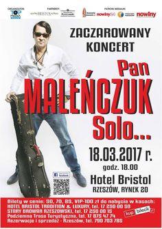Pan Maleńczuk Solo Koncert w Rzeszowie, Hotel Bristol.