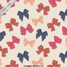 Cute bows pattern