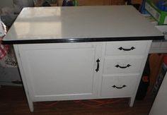 1950s metal kitchen cabinet