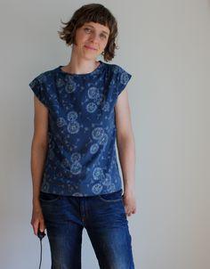 Mein Gewisses Etwas: Kimono Tee mit Lieblingsstoffen von Art Gallery Fabrics Kimono Tee, Serger Sewing, Art Gallery Fabrics, Sewing Patterns, Knitting, Tees, Inspiration, Clothes, Knits